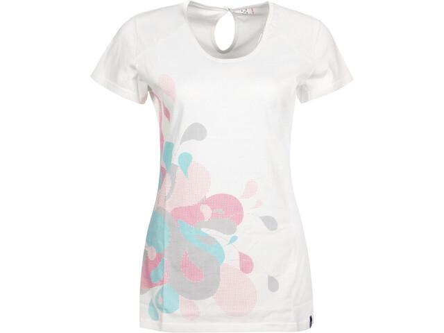 Haglöfs Apex T-shirt Dames, soft white graphic